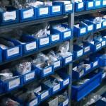 Werkstatt Ersatzteillager für Kleinteile