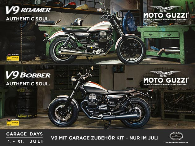 MOTO GUZZI V9 Garage Days