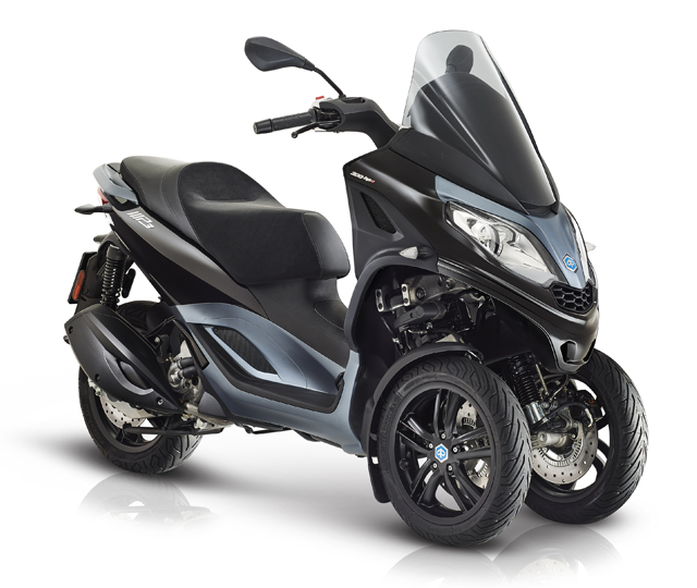 Piaggio MP3 300 hpe, schwarz metallic